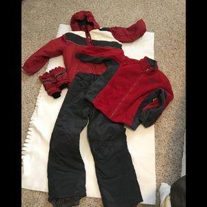 Boys snowsuit set